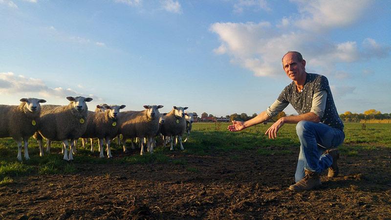 Pieter van Uden   Boer zorgboerderij de Elsburg